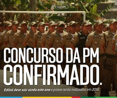 PROF. FÁBIO MADRUGA: CONCURSO PM / PE CONFIRMADO !