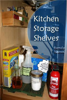 how to make reclaimed wood kitchen sink organizers and shelves