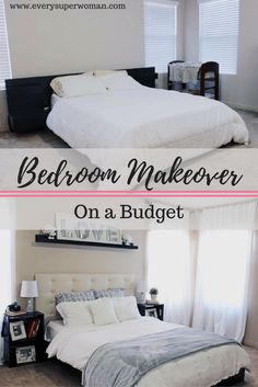 IKEA HACKS - a DIY Upholstered Malm headboard | Ikea malm bed ...