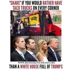 Yes! Dump Don the Con Treasonous Trump