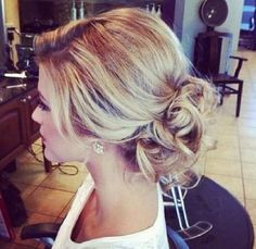 Curly updo - this is pretty too @Nickie M. Hill