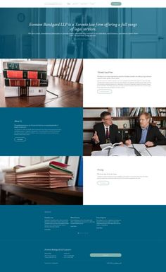 The definitive guide to the best lawyer website designs for Find great attorney, law firm and legal website design examples and tips here. Blog Website Design, One Page Website, Website Ideas, Blog Design, Lawyer Website, Law Firm Website, Law Web, Web Design, Flyer Design