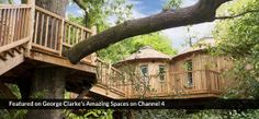 The Treehouse at Harptree Court, Bath, England