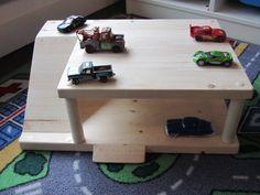 DIY Parking Garage for kids