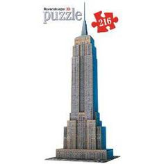 Puzzle Ravensburger de 216 piezas Empire State, New York, Estados Unidos ( Ref:  0000012553 )