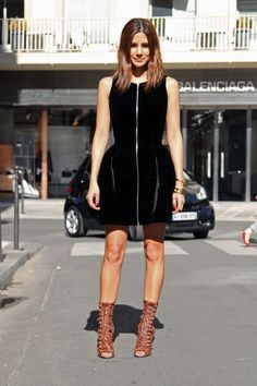 street style RTW S/S 2013 gallery - Vogue Australia    Christine Centenera wears Alaia dress and Willow shoes.