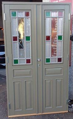 House Entrance, Steel Doors, Door Design, French Doors, Armoire, My House, Beautiful Homes, Locker Storage, Villa