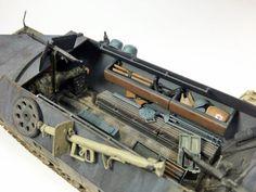 SDkfz.251 Ausf D Halftrack - 1:35 Tamyia by Daz