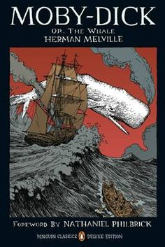Herman Melville's Moby Dick - the Penguin Classics Graphic Deluxe Edition with cover by Tony Millionaire. http://www.penguin.co.uk/nf/Book/BookDisplay/0,,9780143105954,00.html?strSrchSql=moby+dick/Moby-Dick_Herman_Melville#