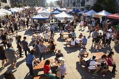 Every Saturday and Sunday from April through October, Smorgasburg showcases  100 local and regional food vendors to upwards of 10,000 visitors per day,  making it one of the most popular tourist destinations in Brooklyn.