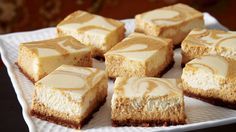 Sobeys | Pumpkin Swirl Cheesecake Squares