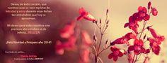 Por un año más bello para todos...  Con todo mi cariño,  Ylenia. #felicitacionnavidad #añonuevo #belleza