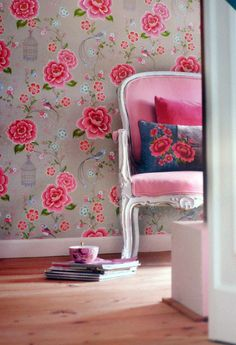 Wow Birds of Paradise Khaki wallpaper http://www.daisypark.co.uk/collections/pip-studio-wallpaper/products/pip-studio-birds-of-paradise-khaki-wallpaper £60 per roll