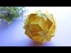 Origami Ball, Paper, Dads, Youtube, Decor, Objects, Crafting, Decoration, Fathers