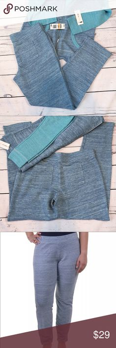 "Style & Co Sport Heathered Stretch Pants Comfortable blue and gray heathered, stretchy pants with an elastic waistband and rear pockets. New with tags.  Waist: (SZ S-32 1/2"")(SZ M-34"")(SZ XL-40""); Rise: (SZ S-9 1/2"")(SZ M-10 1/2"")(SZ XL-11 1/2""); Inseam: (SZ S-29 3/4"")(SZ M-30 1/4"")(SZ XL-30 1/2""); Leg opening: (SZ S&M-6 3/4"")(SZ XL-7 1/2""). Measurements are approximate. Smoke free home. 🌺Thank you for shopping my closet 😊🌺 Style & Co Pants Track Pants & Joggers"