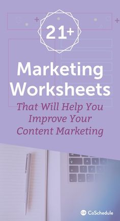 Be even more awesome at what you do with these 21+ marketing templates. http://coschedule.com/blog/marketing-templates/?utm_campaign=coschedule&utm_source=pinterest&utm_medium=CoSchedule&utm_content=21%2B%20Marketing%20Templates%20That%20Will%20Make%20You%20More%20Efficient%20And%20Organized