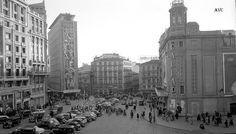 PLAZA DEL CALLAO - 1957