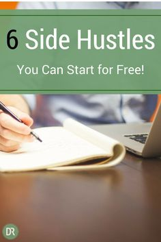 Have you ever wanted to make more money? I know, who hasn't! Here are six side hustles you can start for free!