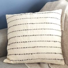 Exquisitely textured and timelessly stylish, the hand-woven Rio Cushion Cover will add understated style to any interior. Natural Texture, Traditional Art, Loom, Hand Weaving, Cushions, Hands, Throw Pillows, Colour, Stylish