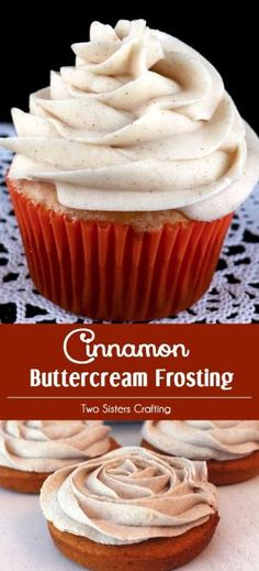 Our Best Cinnamon Buttercream Frosting is the perfect frosting for your pumpkin, apple, carrot, or spice cake, cupcake, bread, or bar. It is super delicious and so easy to make. Sweet, spicy and so very yummy, your family will beg you to make this butter cream again and again. Follow us for more great Frosting Recipes! by veronicawasp