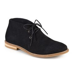 Men's Vance Co. Manson Lace-up Faux Suede High Top Chukka Boots - Black 10.5