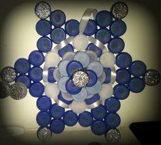 Chistmas decoration blu star