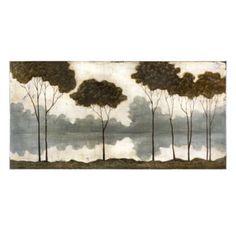 Mystic Riverside Treeline Canvas Art Print | Kirklands-Love this piece