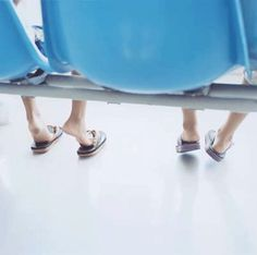 This is one of my favorites because it's s light and bright and seems happy. The two feet look like children, and the way they're placed makes them look like they want to go. Lastly, I like the sky blue chair, because it brings attention the the feet. Asian Photography, Contemporary Photography, Amazing Photography, Martin Munkacsi, Ralph Gibson, Tina Modotti, Garry Winogrand, Larry Clark, Lee Friedlander