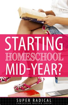 Are you starting homeschool mid-year? Even if you decide to begin your homeschooling in the middle of the year, there are some great tips for making this difficult transition easier on you (and your kids). Homeschooling tips from homeschooling mom of six provide essential wisdom for getting started homeschooling right!