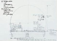 Wagenfeld, design drawing Bauhaus table lamp