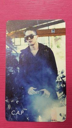 TEENTOP CAP C.A.P Official Photo Card Teen Top 1st Mini IT'S ITS Photocard RARE