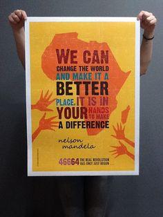 Nelson Mandela by Maria Papaefstathiou, via Behance