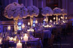 Stunning #lighting from our #wedding at The Plaza, NYC!