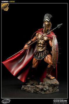 "Sideshow Exclusive 300 King Leonidas 1 4 Scale 19"" Statue ARH Studios 20 100   eBay"