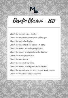 Desafio Literário 2017! - Momentum Saga
