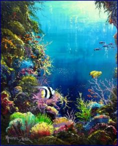 Something I would Like to do: Scuba dive in a coral reef