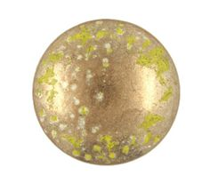 Crescent Dapple Light Copper and Yellow Metal Shank Buttons - 23mm - 7/8 inch