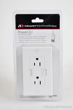 usb outlet - review and link to tutorial on installing