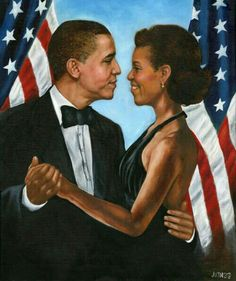 The 1st Black Predident & The First Lady...(history)