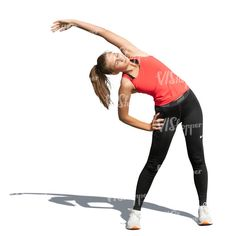cut out woman doing stretching exercises outside Cut Out People, Stretching Exercises, The Outsiders, Sporty, Woman, Style, Fashion, Swag, Moda
