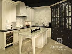 Transitional Kitchen By Affinity Kitchens