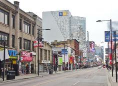 , south of Gerrard - 2014 Downtown Toronto, Street View