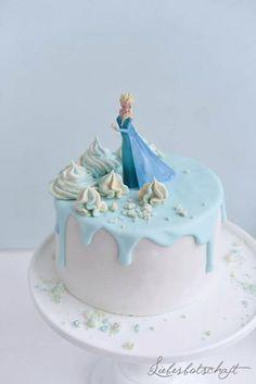 Liebesbotschaft: Die Eiskönigin: Frozen-sweet table.