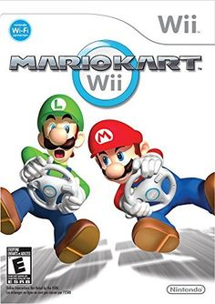 #Mario #Kart - #Nintendo #Wii (World Edition) Get behind the wheel! Perform speed-boosting flips and wheelies with the flick of a #Wii Remote, or grab a #Wii Wheel for even more fast-paced fun!  https://technology.boutiquecloset.com/product/mario-kart-nintendo-wii-world-edition/