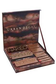 Restock a makeup junkie's supply with this vault containing all of the cult favorite palettes.  Urban Decay Naked Vault, $280, sephora.com.