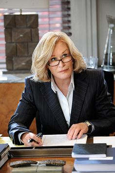 Patty Hewes on Damages; what a Defense Attorney 4 she will stop at nothing to win and settle a case. Icing on the cake is destroying her opponents financially and ruined their reputation.