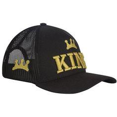 Boné King Brasil Black Gold Black Gold, Hats, Fashion, Black, Brazil, Moda, Hat, La Mode, Fasion