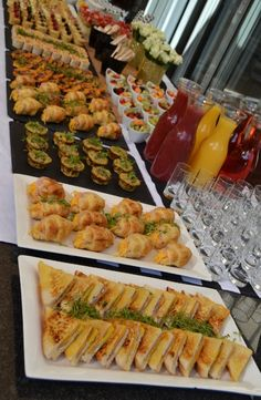 Boksomdaais Boutique Events - Home Party Food Buffet, Party Food Platters, Brunch Buffet, Wedding Buffet Food, Wedding Reception Food, Breakfast Buffet, Luxury Food, Silvester Party, Brunch Party