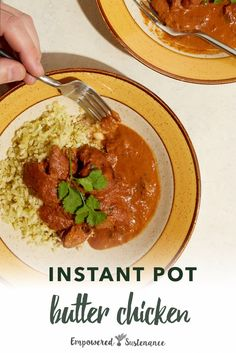 Are you looking for an easy and delicious instant pot dinner recipe? Try this yummy instant pot butter chicken recipe; it's sure to become a family favorite. Instant Pot Butter Chicken Recipe, Paleo Chicken Recipes, Whole Food Recipes, Healthy Recipes, Yummy Recipes, Yummy Food, Instant Pot Pressure Cooker, Pressure Cooker Recipes, Slow Cooker