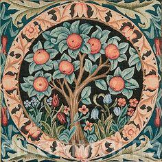 William Morris Orange Tree Ceramic Tile Firplaces Kitchen Bathroom #PILGRIM